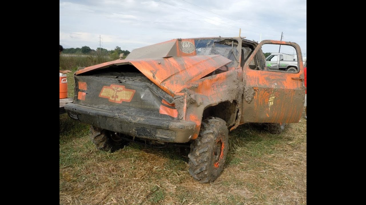 Horseshoe Mud Racing Modified Crash
