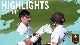 Burns & Elgar show their class   Highlights of County Championship v Somerset - Day One