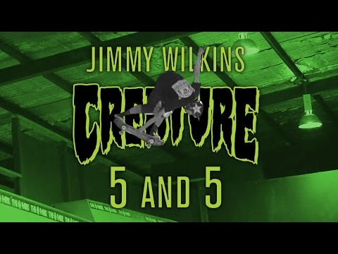 Jimmy Wilkins: 5 & 5 with the Vertical Vampire for Creature Skateboards