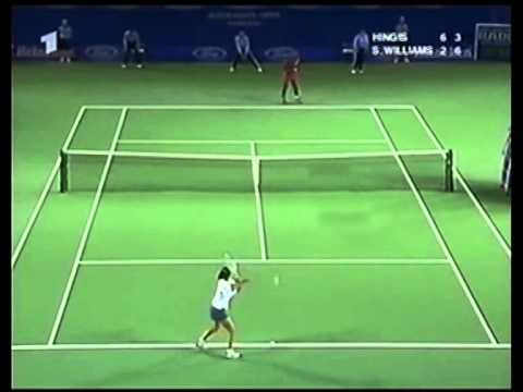 Martina Hingis v. Serena Williams | 2001 Australian Open Highlights