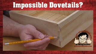 The forgotten dovetail joint: How to build a log cabin box