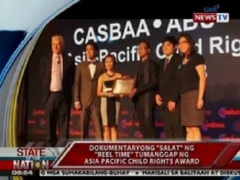 SONA: Dokumentaryong 'Salat' ng 'Reel Time', tumanggap ng Asia Pacific Child Rights Award