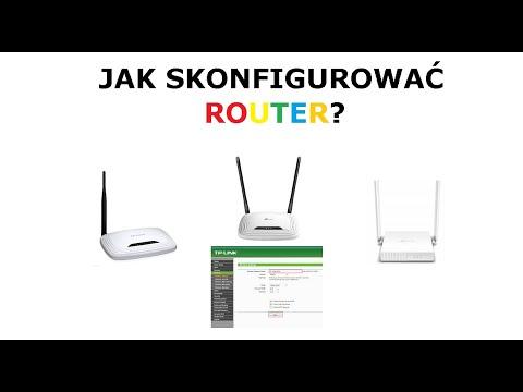 #1 Jak Podłączyć Router KONFIGURACJA I ZABEZPIECZENIE ROUTERA TP-LINK WR841N