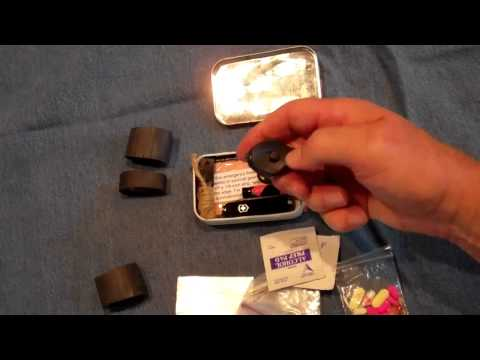 How To Make an Altoids Tin, Pocket Emergency Kit: Survival How To Guide