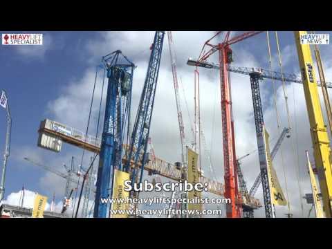 Spierings Mobile Tower Crane SK597-AT4