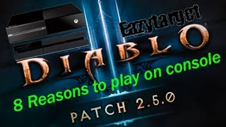 Why play Diablo 3 on Console PS4/Xbox One