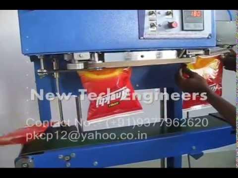 Nitrogen Machine Sealing Machine With Nitrogen