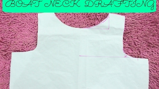 Drafting Of Boat Neck | Easy DIY