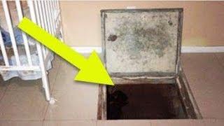 Seemingly Normal Suburban Home Is Hiding A Disturbing Secret Right Under The Floor Boards