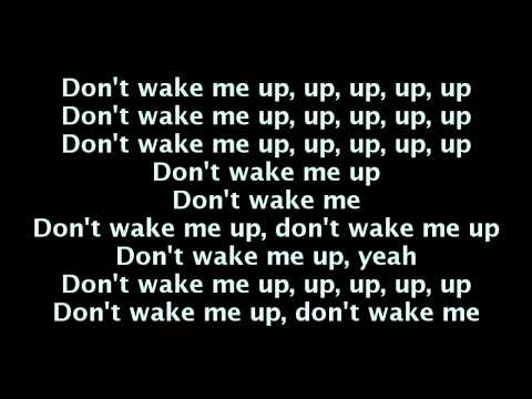 Chris Brown - Don't Wake Me Up (Lyrics On Screen) [Fortune]