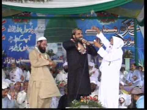 Madina Sohna Lagda Ae Qari Shahid Mahmood Bhakkar Mehfil E Naat 2014 video