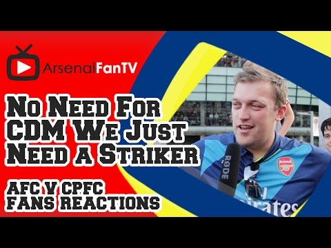 We Dont Need A CDM Just a Striker - Arsenal 2 Crystal Palace 1