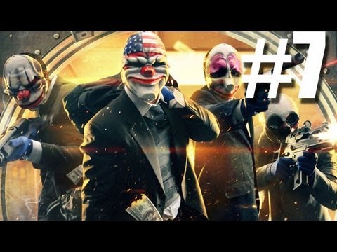 Payday 2 Walkthrough Part 7- BAIN -BANK HEIST DEPOSIT (Xbox 360 FULL GAME)