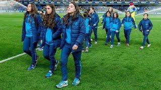 La afición frente al CD Leganés