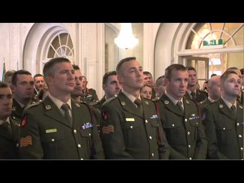 Farmleigh Reception for members of the 44th Infantry Group, UNDOF, Syria