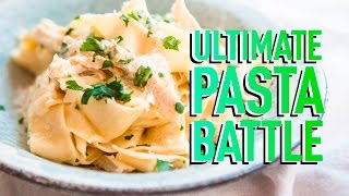 THE ULTIMATE PASTA BATTLE