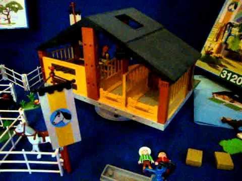 playmobil reiterhof ponyhof 3120 rarit t youtube. Black Bedroom Furniture Sets. Home Design Ideas