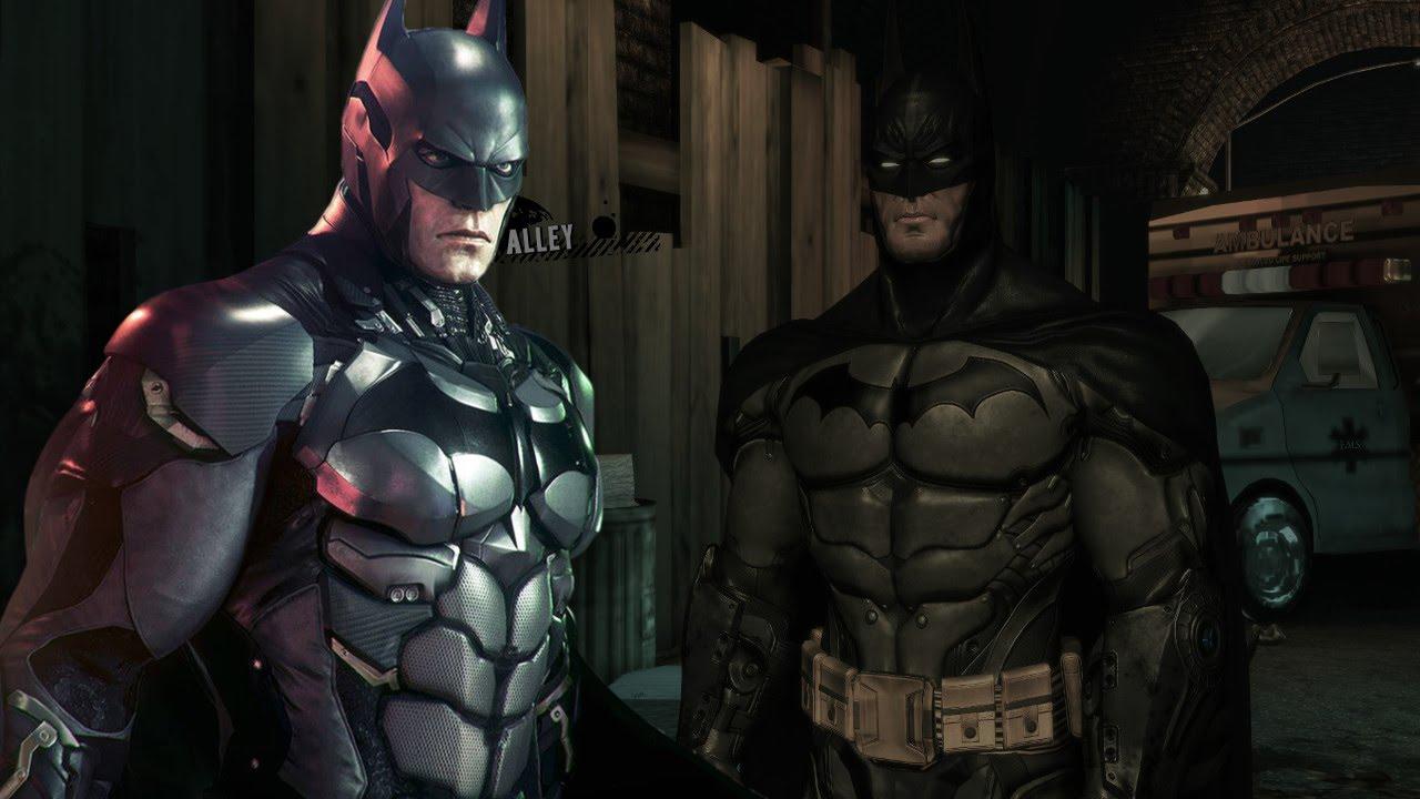 Batman Arkham Asylum Arkham Knight Batsuit Mod - YouTube