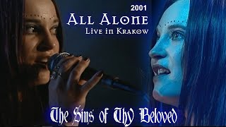 "The Sins Of Thy Beloved - All Alone Live in Krakow"" (2001)"