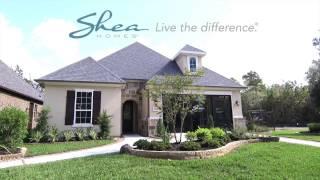 Shea Homes Model Home in Cane Island - Plan 6015
