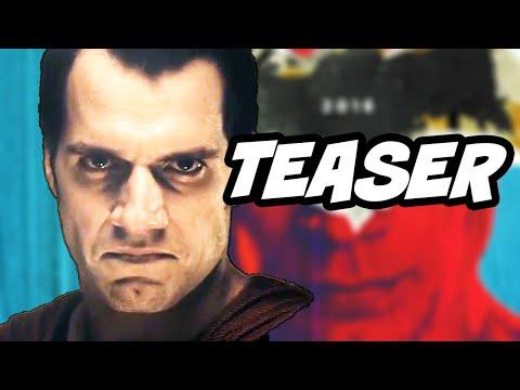 Batman v Superman Teaser - The Batcave and Justice League Breakdown