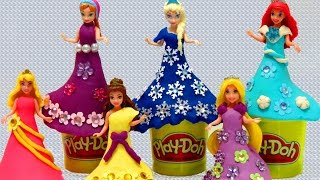 Play-Doh Disney Princess Magic Clip Glitter Glider Dressup - itsplaytime612