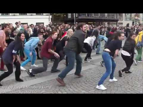 Gangnam Style Flashmob In Lund, Sweden (international Students) video