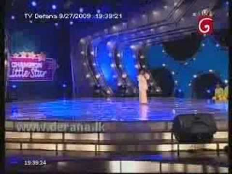 Himasha Manupriya( just 5+ year old) unbelievable singing Talent from Little Sri Lankan Kid