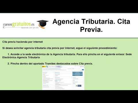 Agencia tributaria cita previa