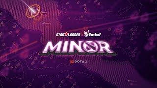 StarLadder ImbaTV Dota 2 Minor   EHOME vs Anvorgesa   Cast:Maverick