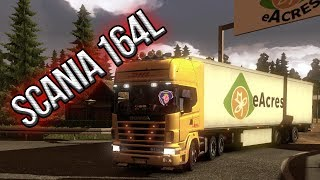 Scania 164L Mod  - Euro Truck Simulator 2 (Download Link)