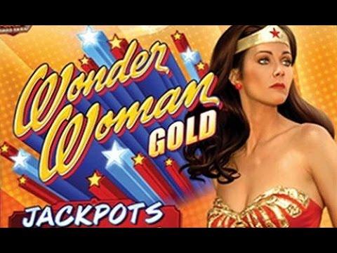 Wonder Woman Slot Machine from Bally Tech