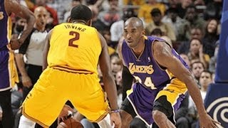 Kobe & Kyrie duel in Cleveland!