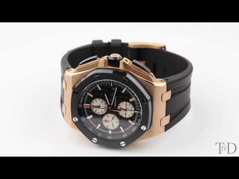 Audemars Piguet Royal Oak Offshore Red Gold 26400RO.OO.A002CA.01 (T4D) watch review