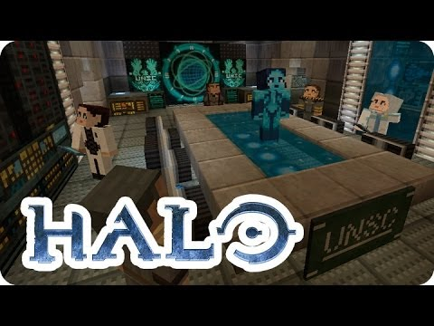 Minecraft Xbox360 - Halo Mash-Up Pack ¡Veamos!