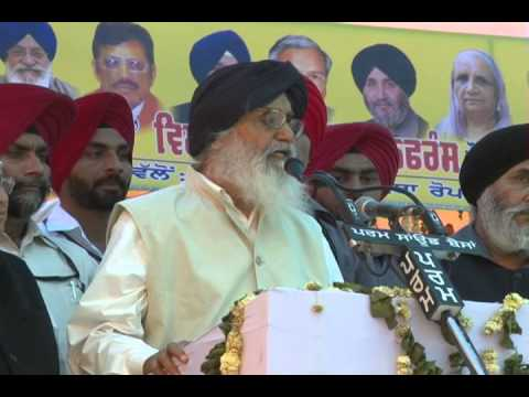 PARKASH SINGN BADAL DUBS CONGRESS FOR ITS ANTI-PUNJAB STANCE