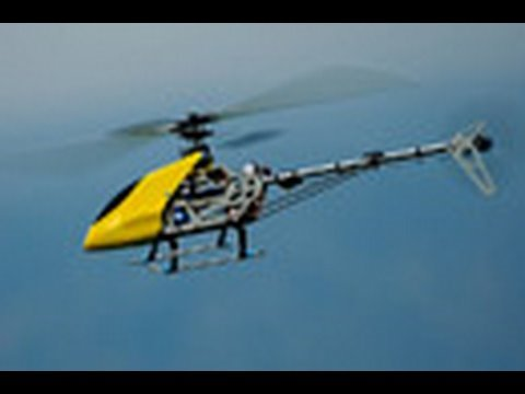 RC HELICOPTER STUNTS & CRASHED!