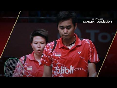 Tontowi A./ Liliyana Natsir (INA) VS Markis Kido/ Pia Zebadiah B. (INA) Djarum Indonesia Open 2012