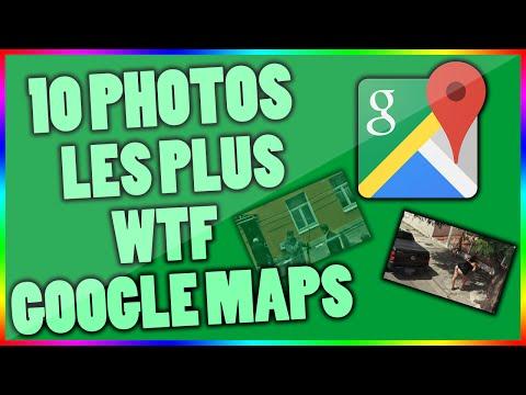 Les 10 photos les plus WTF sur Google Maps !