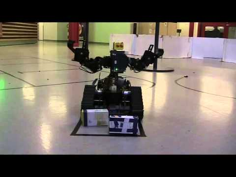 Storage Robot Demonstration Sweden