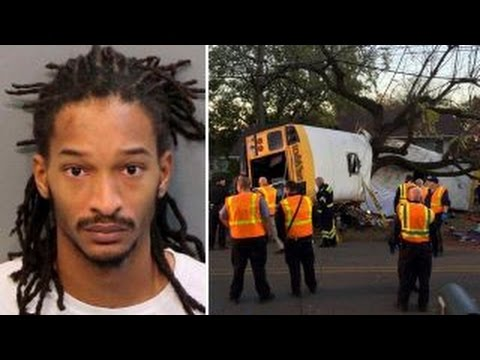 School bus driver arrested, charged in deadly crash