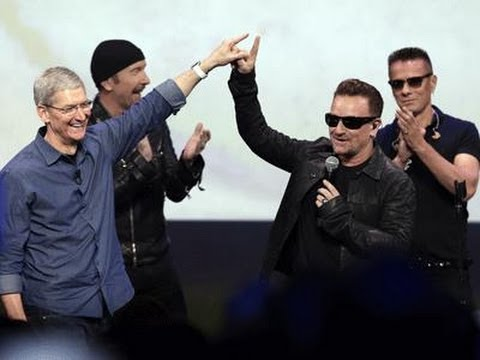 U2 Give Away New Album to ITunes Users