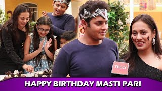 Krutika Desai AKA Masti Pari's Birthday Celebration On Sets Of Baalveer Returns With Cast & Crew