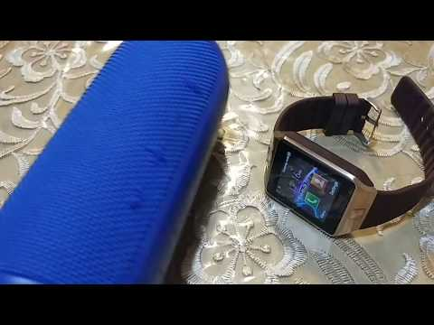 How to pair JBL Flip 3 to DZ09 smart watch