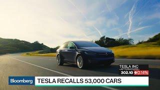 Tesla Recalls 53,000 Cars to Fix Faulty Parking Brakes