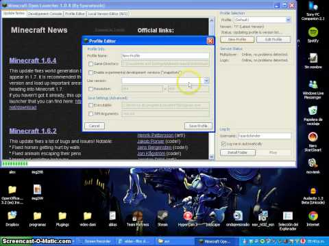 Tutorial de como descargar el launcher de minecraft 1.7.2