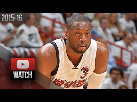 Dwyane Wade Full Highlights vs Hornets 2016 Playoffs R1G2 - 28 Pts, 8 Ast, Taking Over!