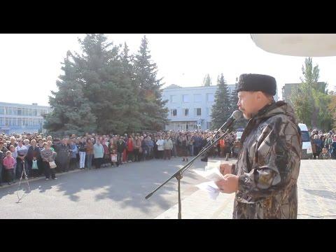 Боевики в Первомайске не скрывают, что воюют за спинами мирных жителей