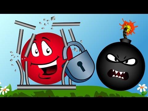 Red Ball КРАСНЫЙ ШАРИК спасает своих братьев из клетки МУЛЬТИК ИГРА для детей для малышей