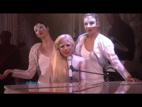 Lady Gaga - Bad Romance live on Ellen DeGrenes Show 27/11/09 HD HQ
